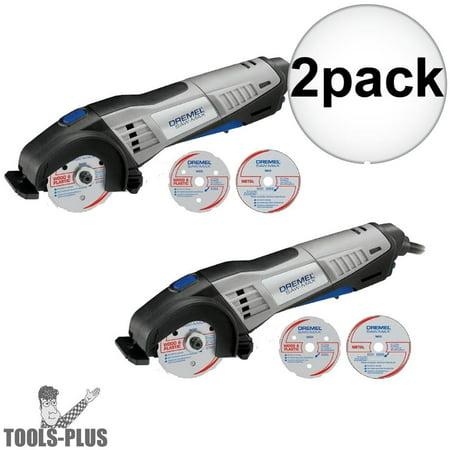 Dremel SM20 Saw-Max Compact Circular Saw Tool Kit 2-Pack Mfr. (Dremel Saw Max Tool Kit Sm20 02)