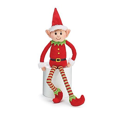 Plush Little Elf Soft Stuffed Santa Helper Christmas Gift - Helper Elf