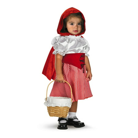 Little red riding hood infant halloween costume 12 - 18 Months (Cute Big Brother Little Sister Halloween Costumes)