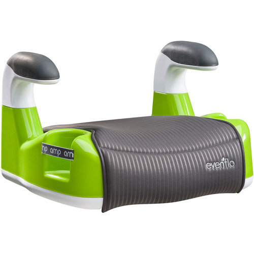 Evenflo AMP Performance Backless Booster Car Seat, Green