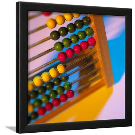 Abacus Framed Print Wall Art By Mark Sykes - Walmart.com