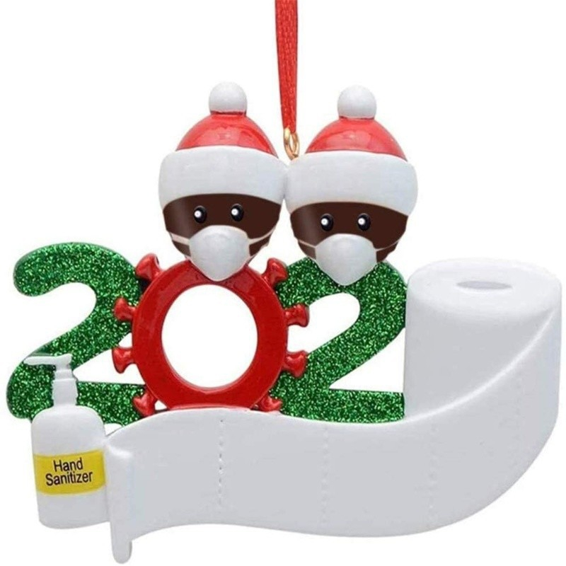 Quarantine Christmas Party Decoration Gift Product Personalized Hanging Ornament
