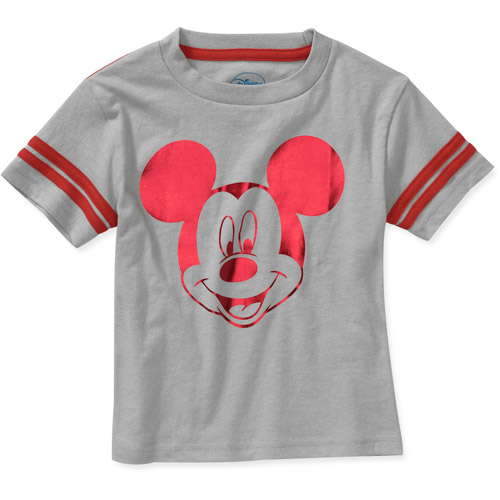 Disney Baby Boys' Mickey Foil Graphic Tees