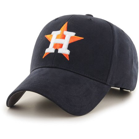 MLB Houston Astros Basic Youth Adjustable Cap/Hat by Fan - Blue Cooperstown Adjustable Hat