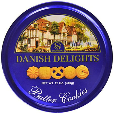 Sherwood DANISH DELIGHTS Butter Cookies, In a Nice Gifting Tin, box (340g). ()