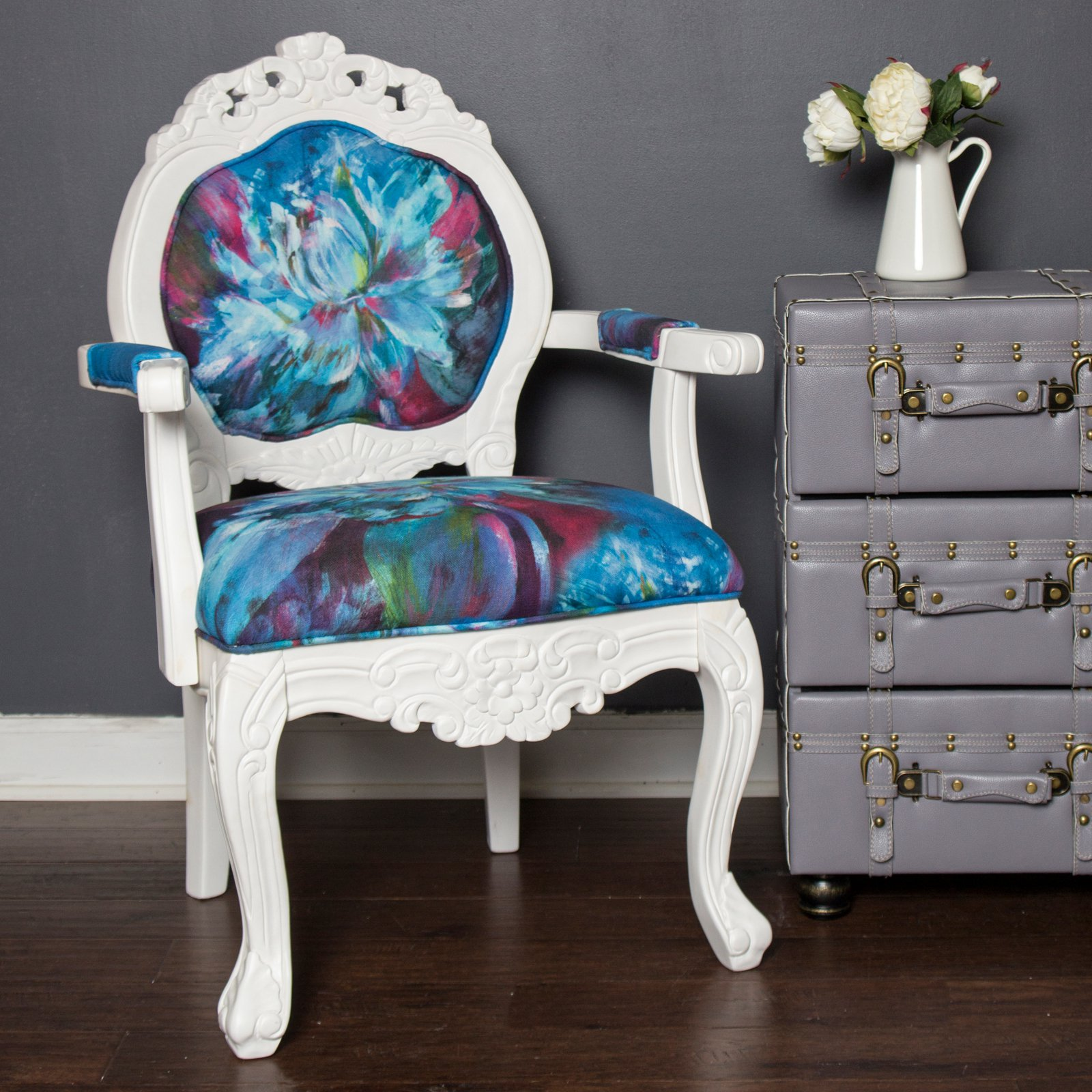 River of Goods Regal Elegance Hand Carved Armchair by River of Goods