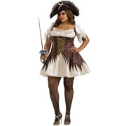 Buccaneer Pirate Adult Halloween Costume by Rubies Costume Co