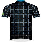 Primal Wear Gridwall Men's Cycling Jersey: Blue/Black, MD
