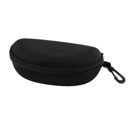 Unique Bargains Nylon Semi Hard Zippered Eyeglasses Sunglasses  Case Holder Box Container w Belt Loop (Sunglasses Belt Case)