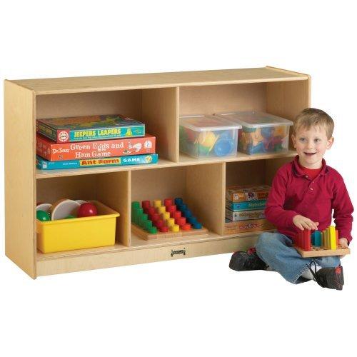 Jonti-Craft Low Single Storage Bookcase