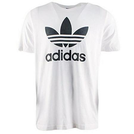 Adidas Mens Original Trifoil Tee, White, L