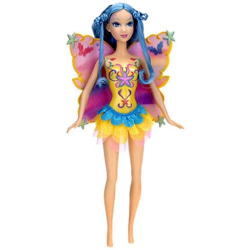 "Mattel Fairy Color Change 12"" Doll with Two 1"" Bibble Fig..."