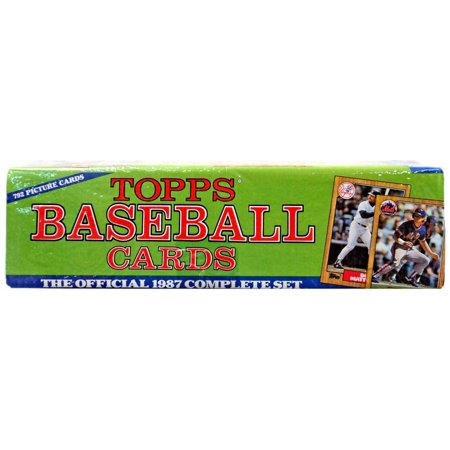 Mlb 1987 Topps Baseball Cards Complete Set