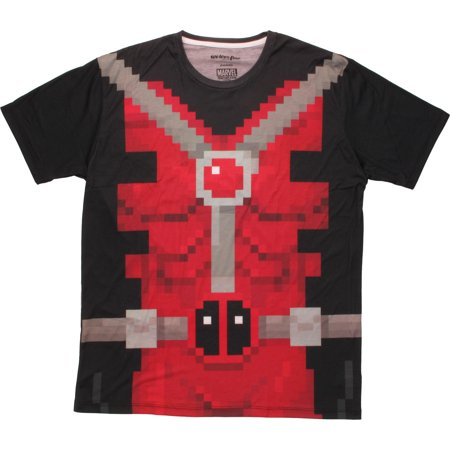 Deadpool Pixel Suit Sublimated -