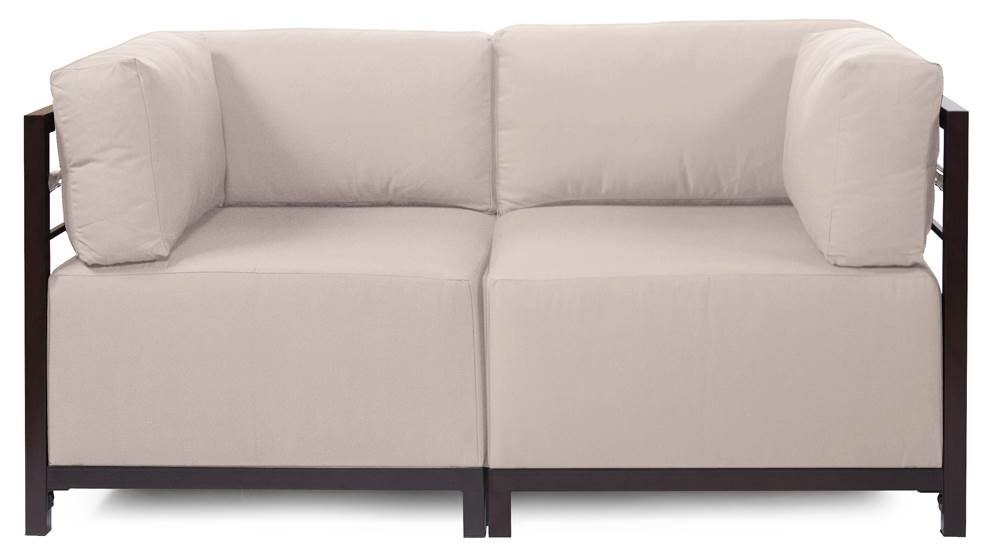 2-Pc Sectional in Sand by Howard Elliott Collection