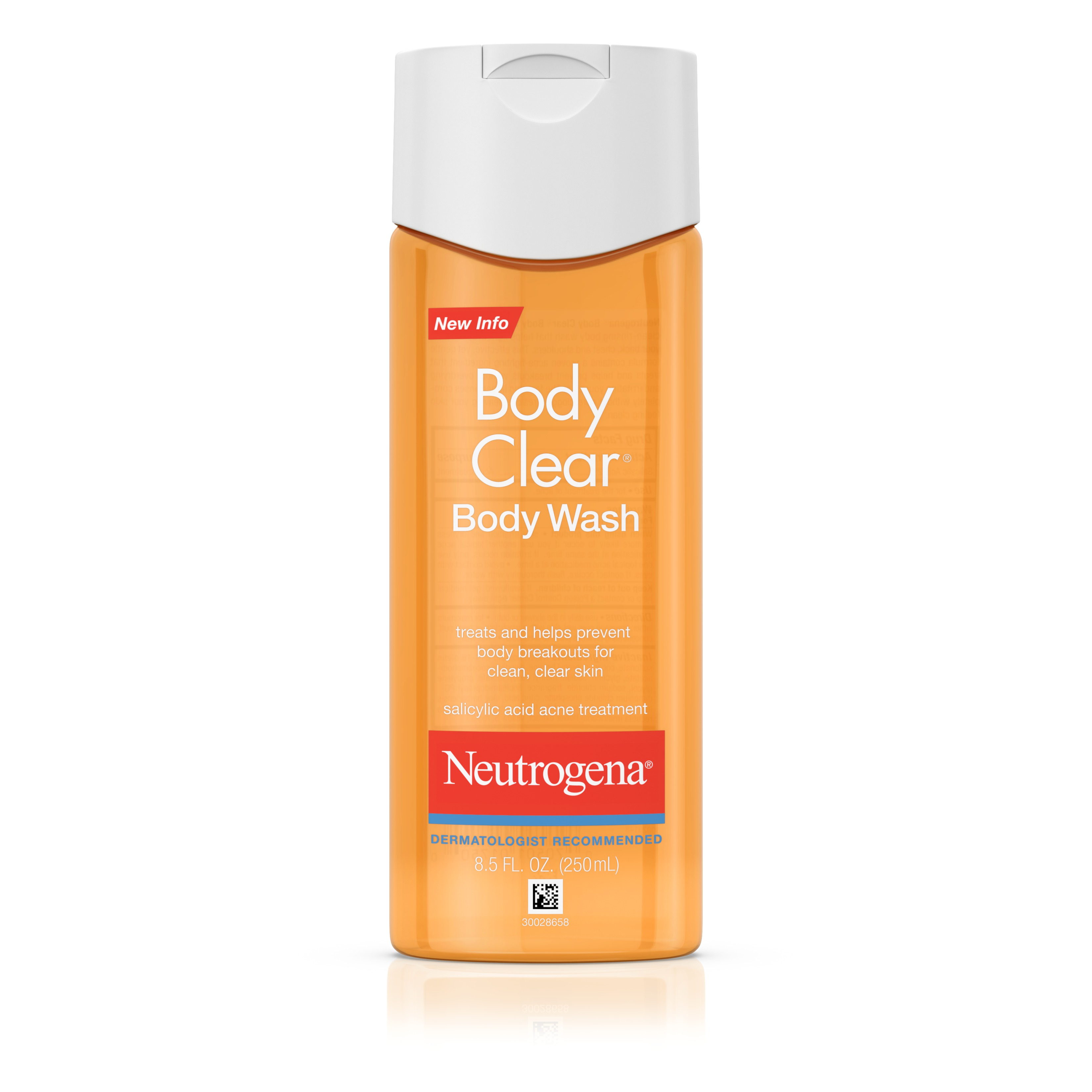 Neutrogena Body Clear Acne Body Wash with Glycerin, 8.5 fl. oz