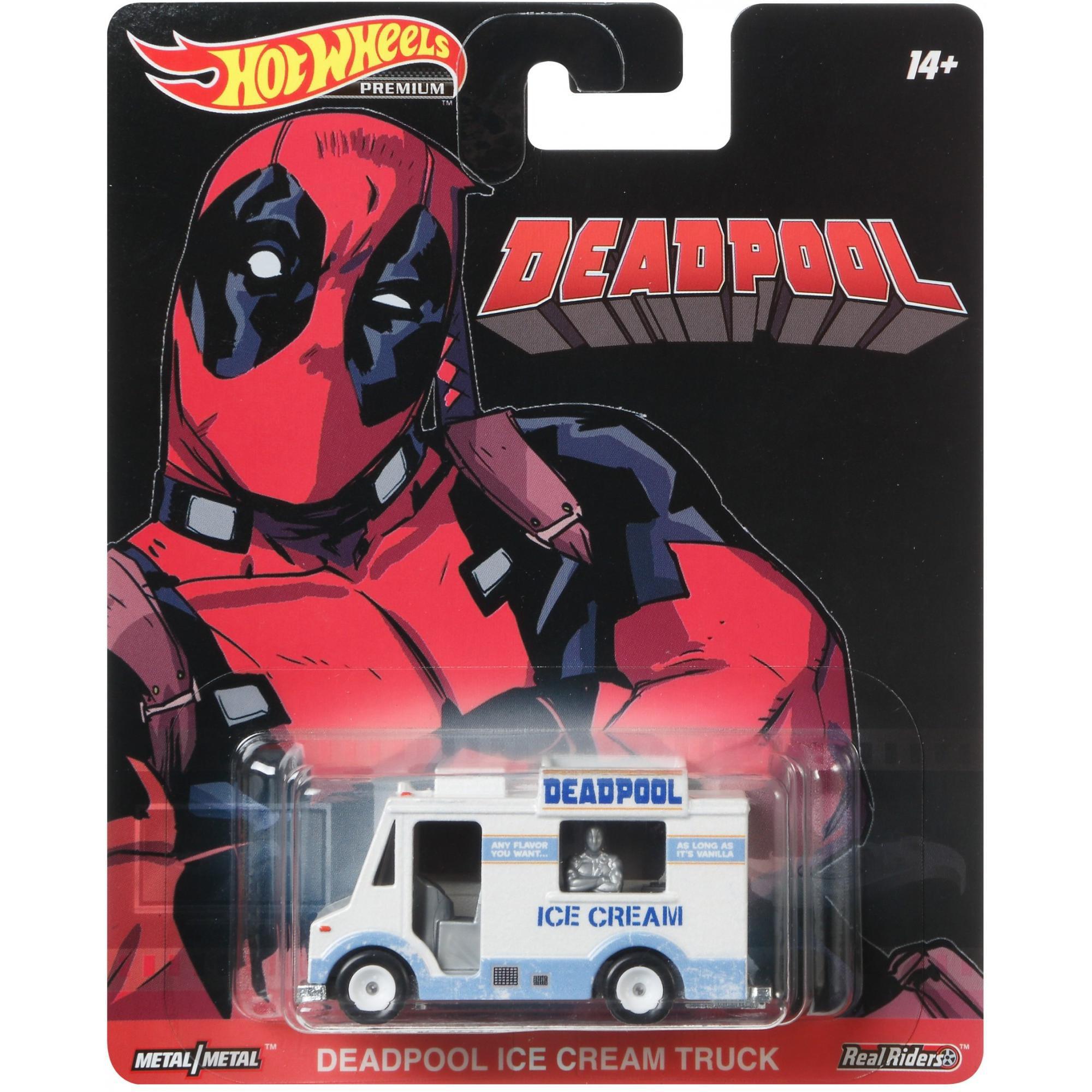 Hot Wheels Deadpool Chimichanga Truck Walmart Com Walmart Com