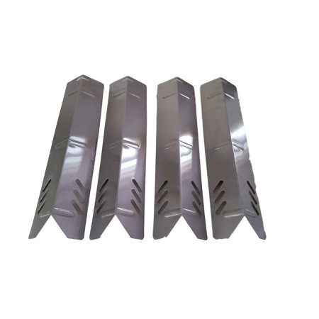 Set of Four Stainless Steel heat Plates for BHG Grill model - Heart Plates