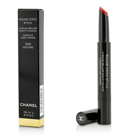 Chanel Rouge Coco Stylo Complete Care Lipshine - # 206 Histoire 0.07 oz Lipstick