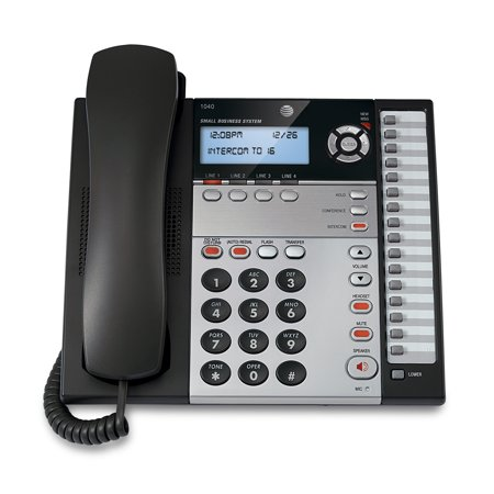 AT&T 1040 4-Line Expandable Corded Small Business - Corded Business Telephone
