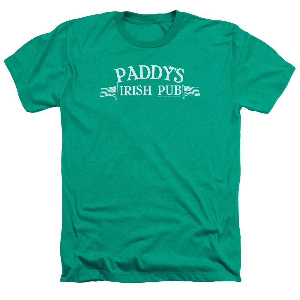 Its Always Sunny In Philadelphia Paddys Logo Mens Heather Shirt
