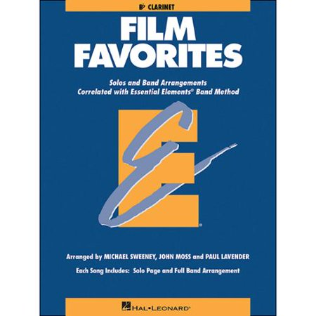 B-flat Clarinet Music Book - Hal Leonard Film Favorites B-Flat Clarinet
