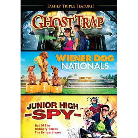 Family Triple Feature: Ghost Trap / Junior High Spy / Wiener Dog Nationals (Widescreen)