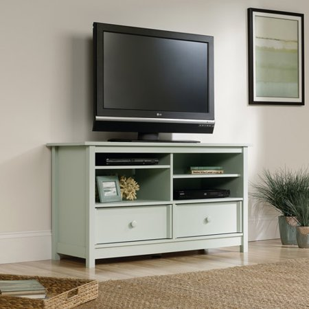 Sauder Original Cottage Rainwater Entertainment Credenza for TVs up to 50″