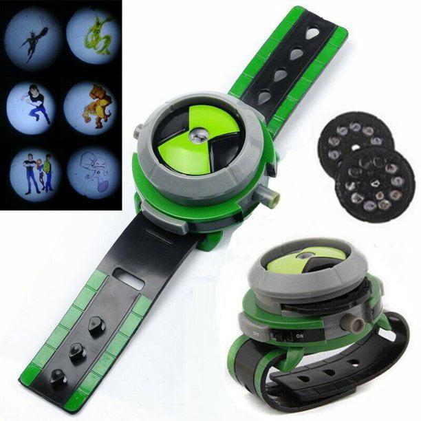 Yuxing 1 Pcs Ben 10 Alien Force Omnitrix Illumintator Projector Watch Toy Gift For Child Kids Walmart Com Walmart Com