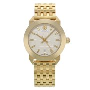 Pre-Owned Tory Burch Whitney Classic Gold Tone Steel Swiss Quartz Ladies Watch TRB8002