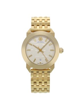 9eaf19878c3 Product Image Pre-Owned Tory Burch Whitney Classic Gold Tone Steel Swiss  Quartz Ladies Watch TRB8002