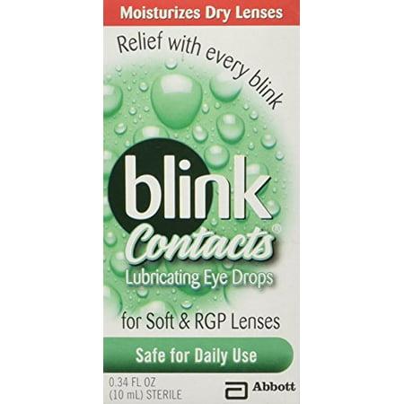 5 Pack - Blink Contacts gouttes lubrifiantes yeux 10 ml Chaque