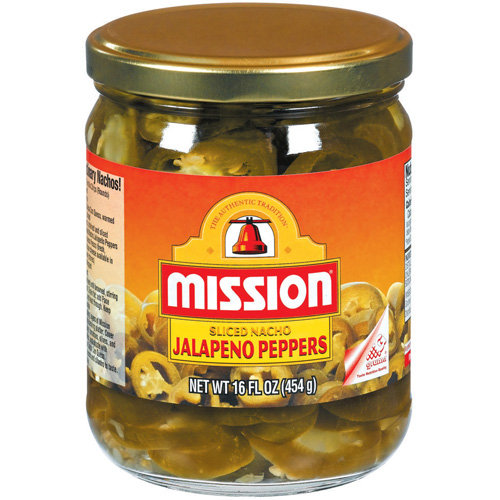 Mission Sliced Nacho Jalapeno Peppers, 16 oz