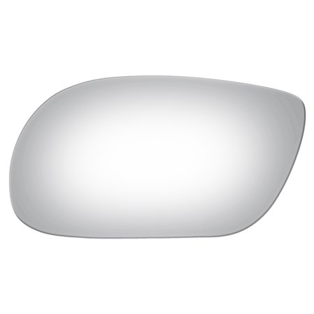 Avenue Mirror - Burco 2725 Left Side Power Replacement Mirror Glass for 98-05 Buick Park Avenue