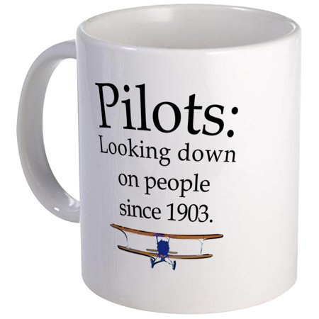 CafePress - Pilots: Looking Down On Peopl Mug - Unique Coffee Mug, Coffee Cup CafePress