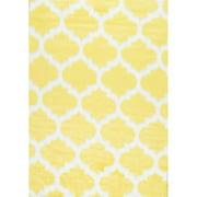 nuLOOM Faux Sheepskin Shaunna Rug 5' x 7' Yellow Rectangle (BIBL25C-507)