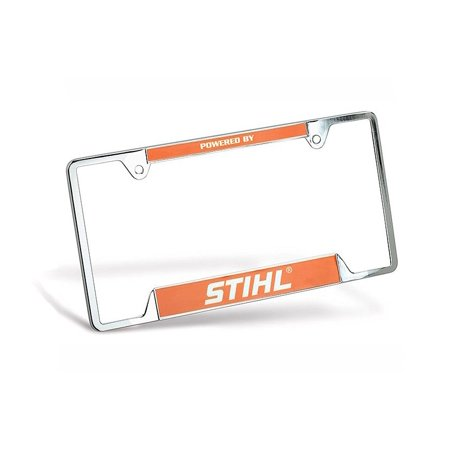License Plate Frame - 8401994, Display your support of STIHL for all ...