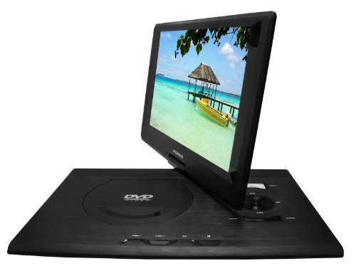 Sylvania SDVD1332 13.3-Inch Swivel Screen Portable DVD Player with USB SD Card Reader by Sylvania