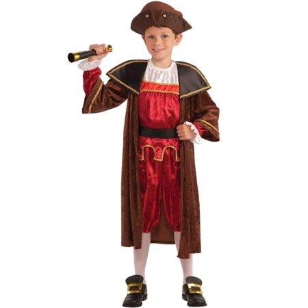 Christopher Columbus Child Costume (S)