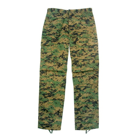MARPAT BDU Pants, Marines Woodland Digital Camo (Woodland Camo Bdu Shirt)