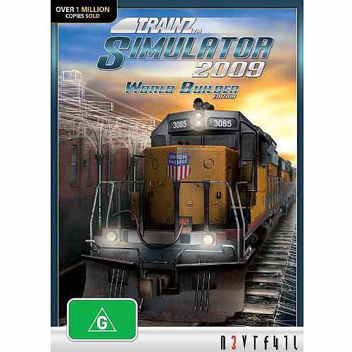N3V Games Trainz Simulator 2009: World Builder Edition (Windows) (Digital Code)