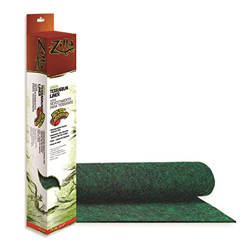 Zilla Reptile Terrarium Bedding Substrate Liner by