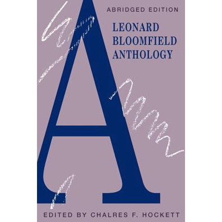 A Leonard Bloomfield Anthology - Bloomfield Halloween