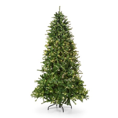 Belham Living 9ft Pre-Lit Balsam Fir Artificial Christmas Tree with 1000 Clear Lights - Green