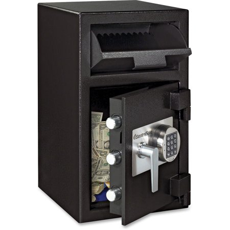 SentrySafe DH109E Depository Security Safe, 1.3 cu ft - Front Loading Depository Safe