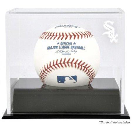 30 Baseball Logo Display Case (Chicago White Sox Baseball Cube Logo Display Case )