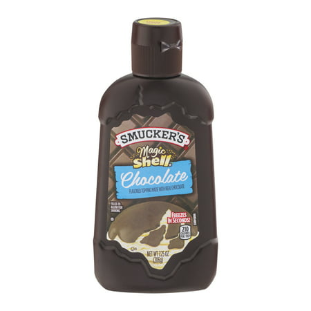 (3 Pack) Smucker's Magic Shell Chocolate Topping, 7.25 oz