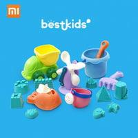 16pcs/set Xiaomi Mijia BESTKIDS Beach Toys Sand Castle Maker Mode Shovel Bucket Outdoor Beach Play Educational Toys for Kids