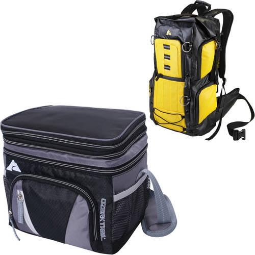 Ozark Trail 6 Can Cooler and BONUS Gustabus Backpack Value Bundle
