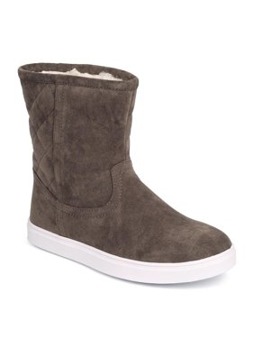 02f26d334330 Product Image New Women Refresh Junior-01 Quilted Suede Round Toe Riding  Winter Boot Size